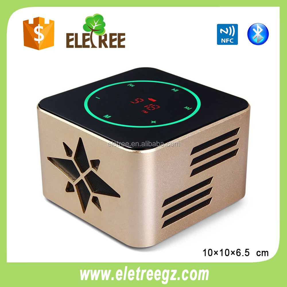 Dual Alarm Clock Radio USB Charging Port Digital FM LED Light Speaker With Battery Backup