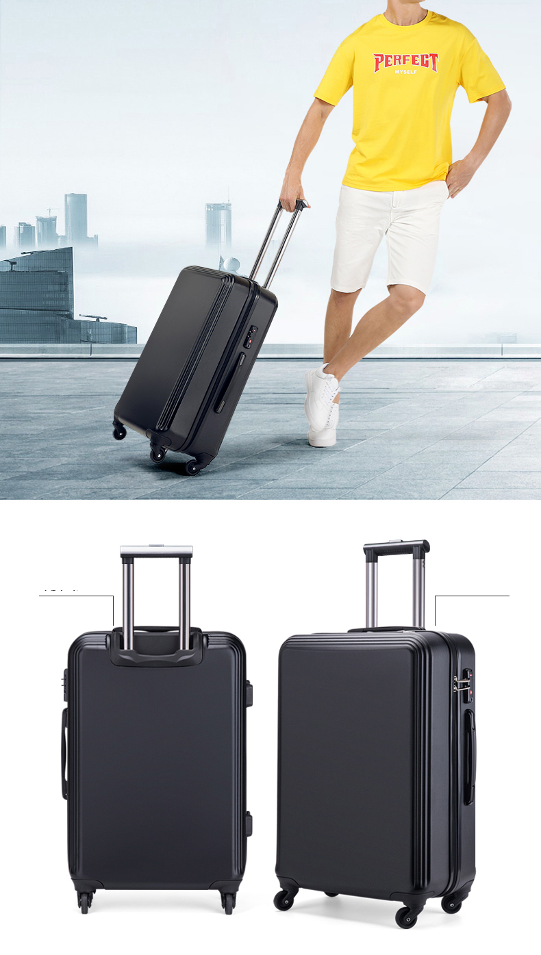 3pcs 20/24/28 zoll Cabin Trolley Case Wheeled Bag Suitcase ABS PC Luggage