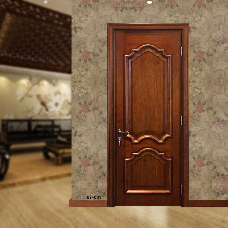 Latest design wooden door modern house door designs good quality ...
