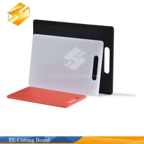 PE plastic cutting board chopping board for the kitchen