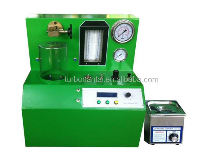 Common rail injector and piezo injector pq1000 common rail test bench
