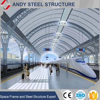 Large-scale Light Metal Pipe Truss Design For Train Station - Buy Large  Scale Steel Truss Pipe Train Station,Light Steel Structure Pipe Truss