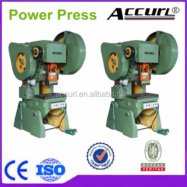 J23-100tons C-frame Mechanical Power Press,Eccentric Power Press 100tons Capacity
