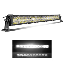 Auto Lighting System cheap long life span 22 Inch 390W Triple Row Spot flood beam LED Light bar For Car