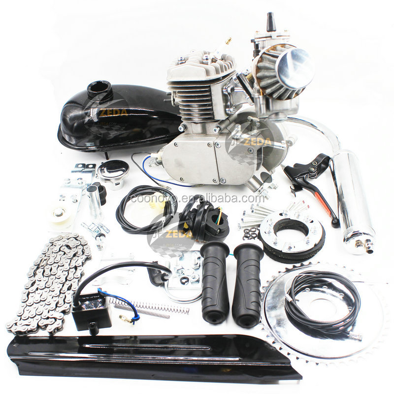 Gas Motor Bicycle Engine Kit/ Moped Engine Kit For Bicycle 80cc/Pedal Mopeds Bicycle Engine Kit