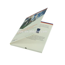 2.4inch slide LCD indian wedding invitations video name greeting card case design wedding with 4C paper printing gifts items