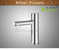 Induction basin faucet single bathroom plumbing associated sensor faucet