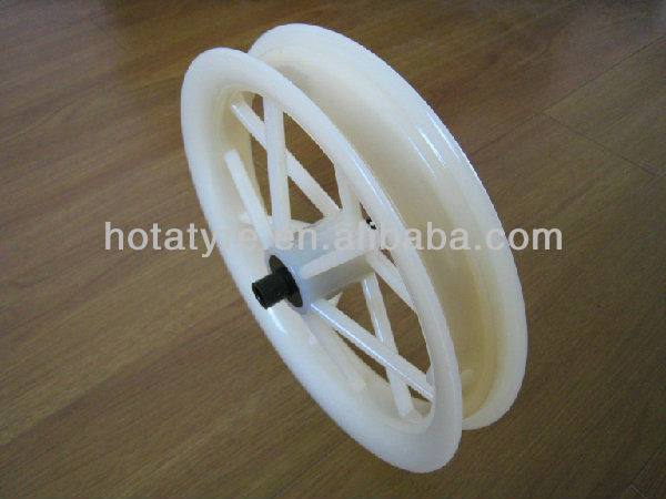Baby stroller plastic air front wheel rim, stroller PP bearing wheel,plastic stroller bearing rim 8,10,12,14inch