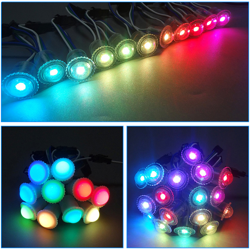 electronic neon SMD5050 pixel Christmas LED dmx string lights