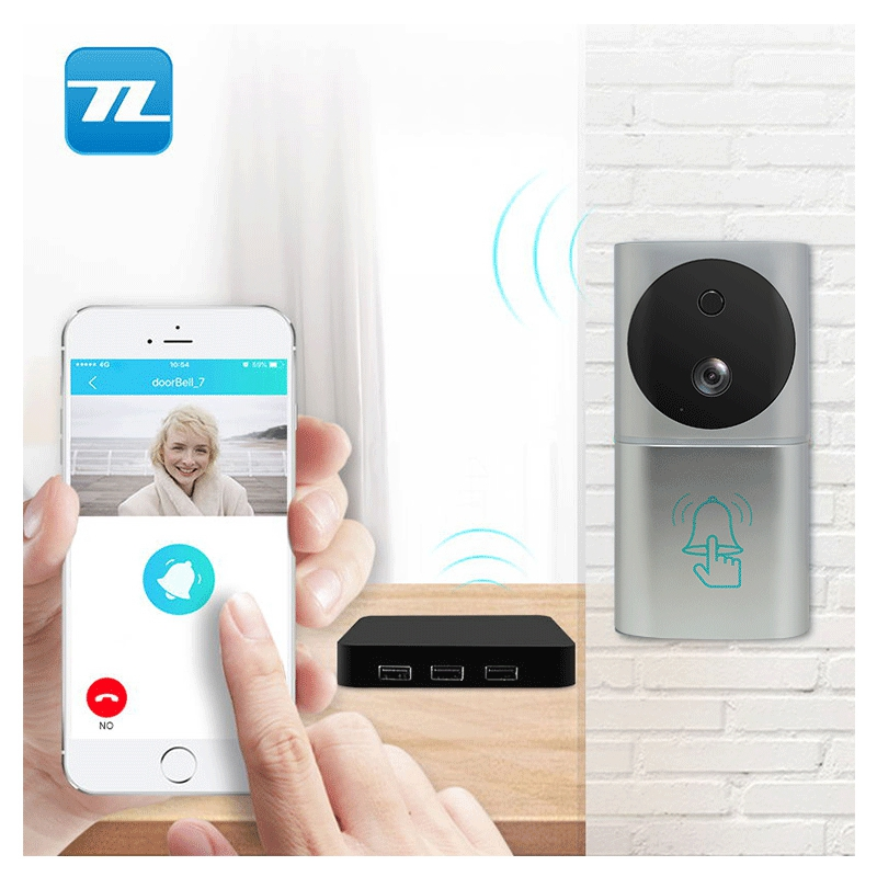 Nacht Versie IR deurbel wifi intercom video deurtelefoon smart home alarm security TL-WF03