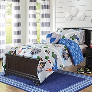 Cheap Grey Blue Comforter Set find Grey Blue Comforter Set deals on