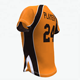 Wholesale sublimation custom blank baseball/softball jerseys sportswear uniforms