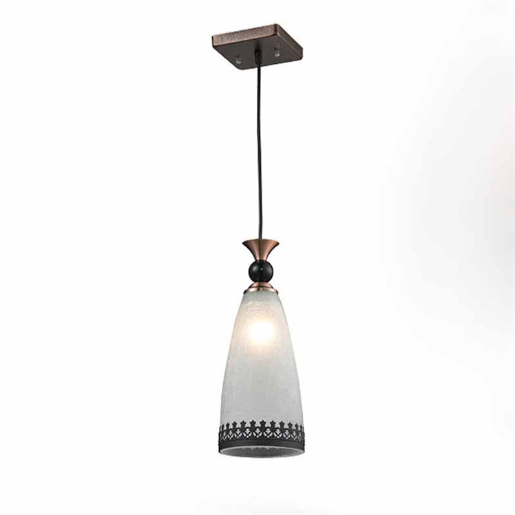 Fast delivery mini glass pendant lighting with best quality and low price