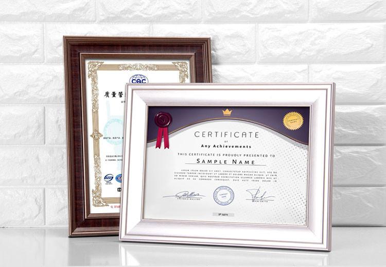 A4 Plástico Graduación Foto Marco Barato Certificado Marcos Al Por ...