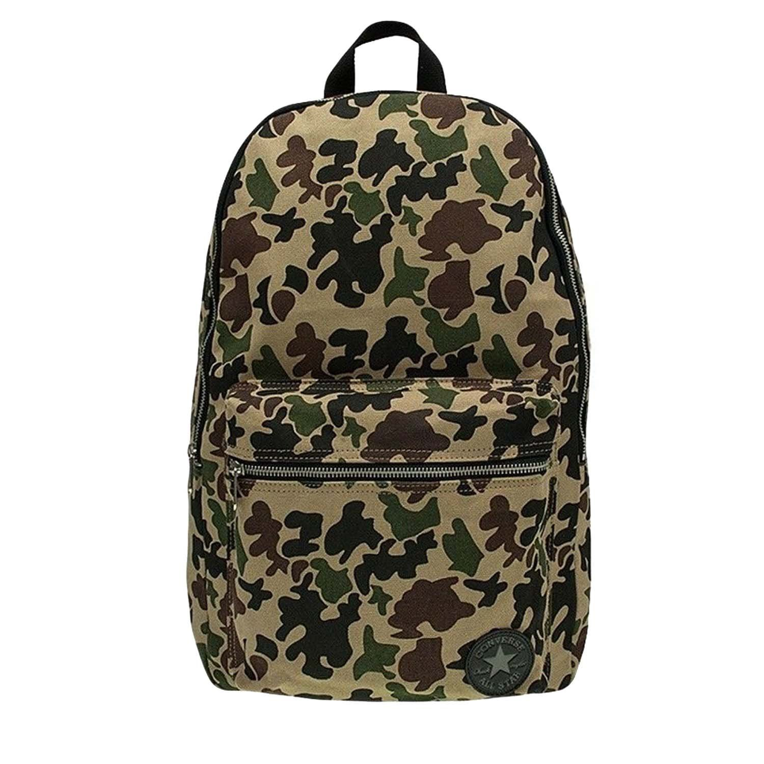 ebfc8331a6 Get Quotations · Converse Camouflage Core Patch Plus Canvas Backpack-Camo