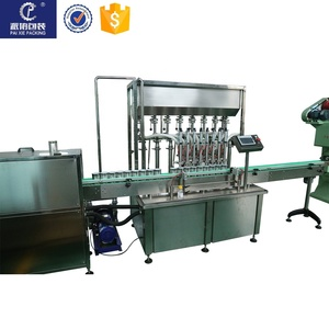 High accurate eye drops glass bottle labeling machine , customized and easy operation