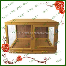 waterproof Wooden pet house with a View of indoor wooden rabbit kennel