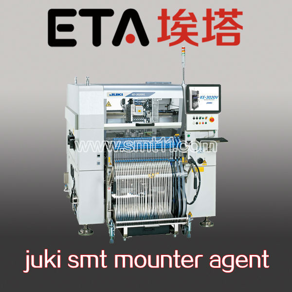 pick and place machine /hot sale JUKI Flexible Mounter KE3020VA/VRA 6 nozzles chip mounter