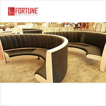 Furniture Wooden Frame Pu Leather Sofa