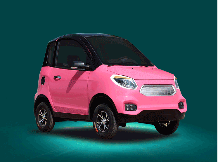 Yeni Enerji Elektrikli Araç Yetişkin Dört Tekerlekli Mini Bayan
