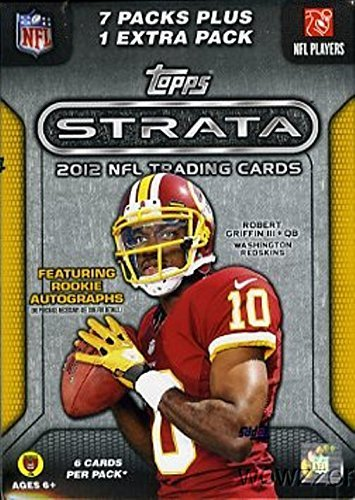 2012 Topps Strata NFL Football Factory Sealed 16 Box Case ! Includes THREE(3) Autographs and 240 ROOKIE CARDS !