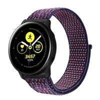 Band 42mm Galaxy Watch Active 40mm & Gear S2 20mm Nylon Sport Loop Wrist Strap Bands for Amazfit Bip