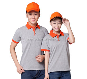 China OEM unisex polo shirt workwear uniform for courier