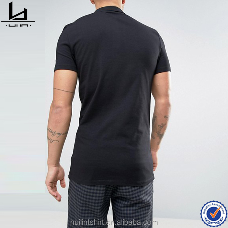 a1c8c11b Authentic brand name clothing contrast western yoke piping polo shirts