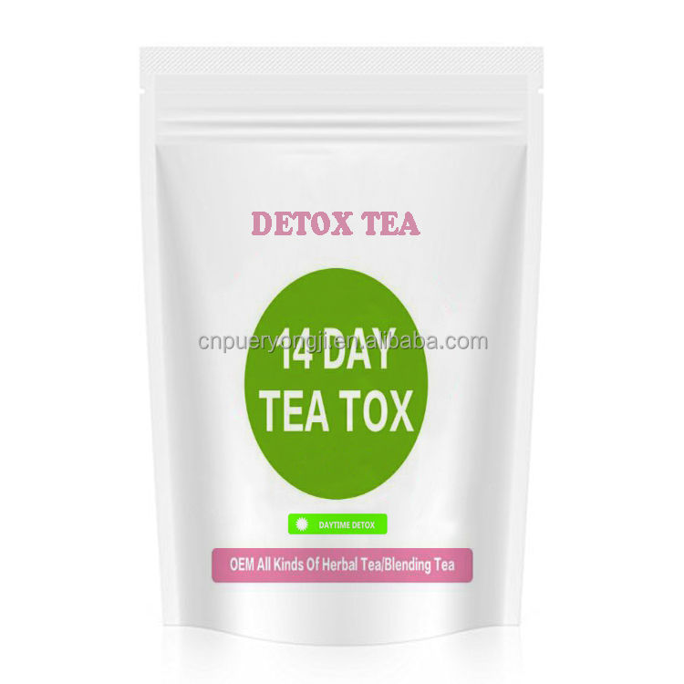 Natural hot seller detox tea private label with low price quick slim tea