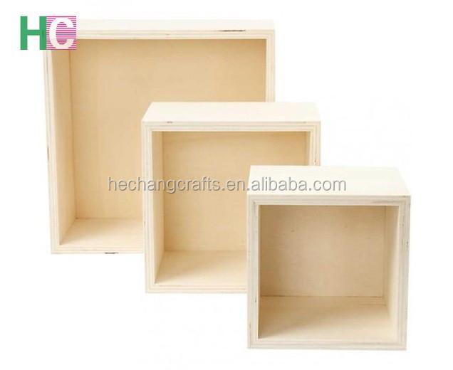 Unfinished Plywood Shadow Box Frames Wholesale - Buy Shadow Box ...