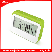 Large LCD screen time clock,digital kitchen timer,table clock