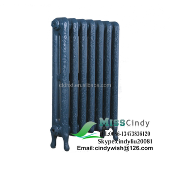 Hot Water Heating Radiators With Decorative Pattern