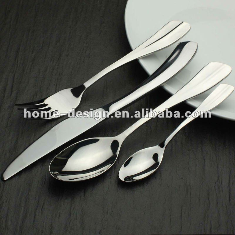 High quality star hotel & restaurant stainless steel cutlery sets
