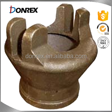 custom sand cast bronze coupling with ISO 9001 made in China