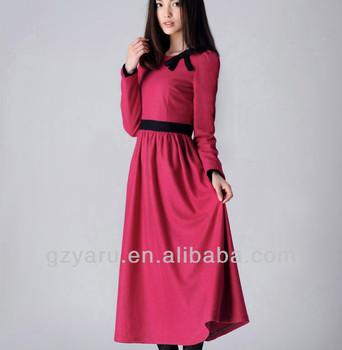 76ce274f6 Modelos De Moda Casual Mulheres Árabe Vestido Longo - Buy Árabe ...