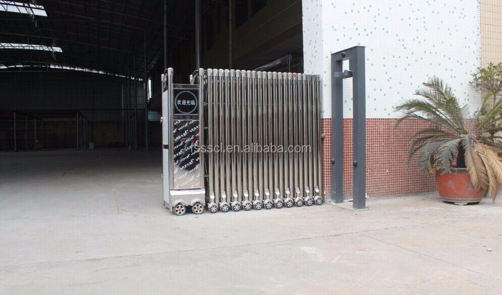 Elektrische schiebe zaun falttor design j1430 tür produkt id ...