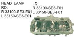 Oem Rd R 33100-se3-e01 L 33150-se3-e01 Ld R 33100-se3-f01 L 33150 ...