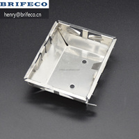 Stainless steel LED oven lamp case deep drawing parts