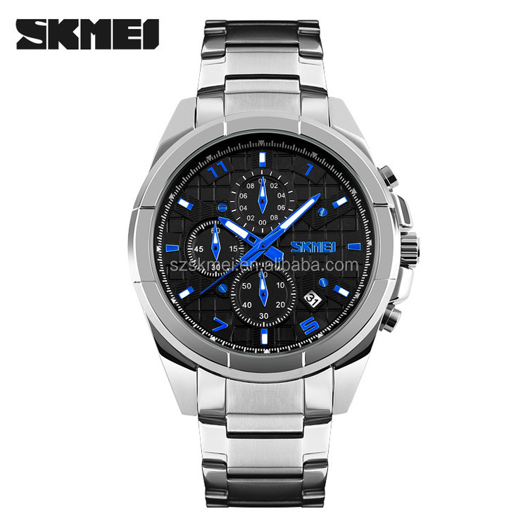 india online shopping black stainless steel watch free watch sample