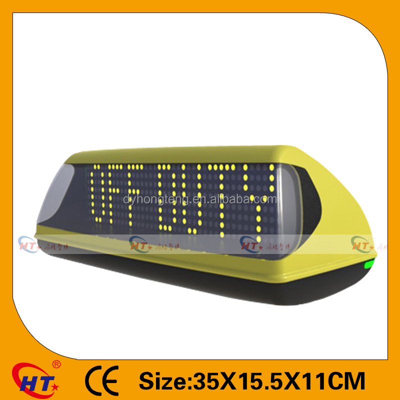 HT Manufacturer Taxi top sign with TAXI