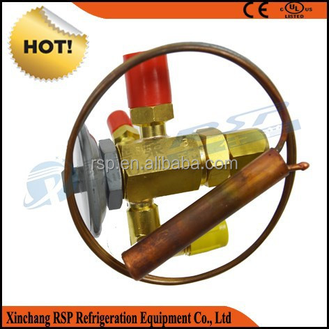 Brass Thermal Expansion Valve for refrigeration