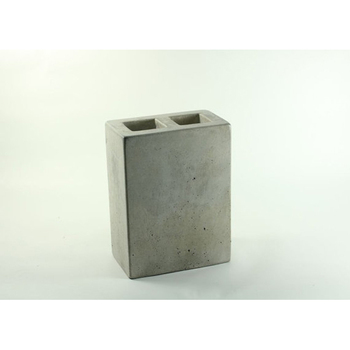 Cement Hotel Bathroom Accessories Toothbrush Holder With Cover