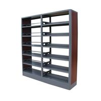 Furniture Library 6 Layer Book Shelf Used Library Shelving for Sale