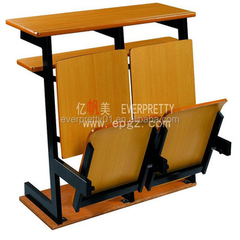 Superbe University Student Furniture College Study Table And Chair University  Folding Desk And Chair