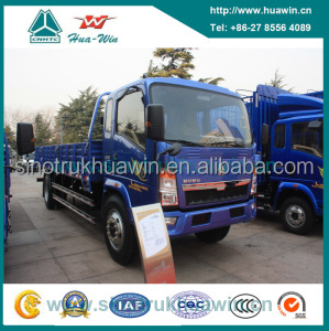 Left Hand Drive Sinotruk HOWO 4x2 Mini Delivery Truck for Sale