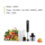 400W mini electric stainless steel handheld stick blender