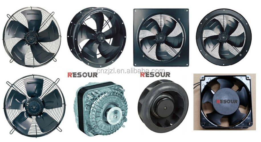 COOLSOUR Fan Motor, Axial AC Fan