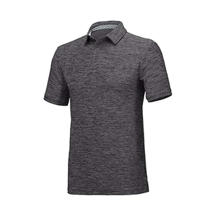 Wholesale Golf Shirts Men Dry Fit Short Sleeve Polo Athletic Casual Collared T-Shirt Moisture Wicking Polo T Shirt