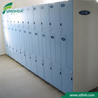 Filing Cabinet Resin Gym Locker Phenolic Resin Laminate Smart Storage Gym Locker Cabinet