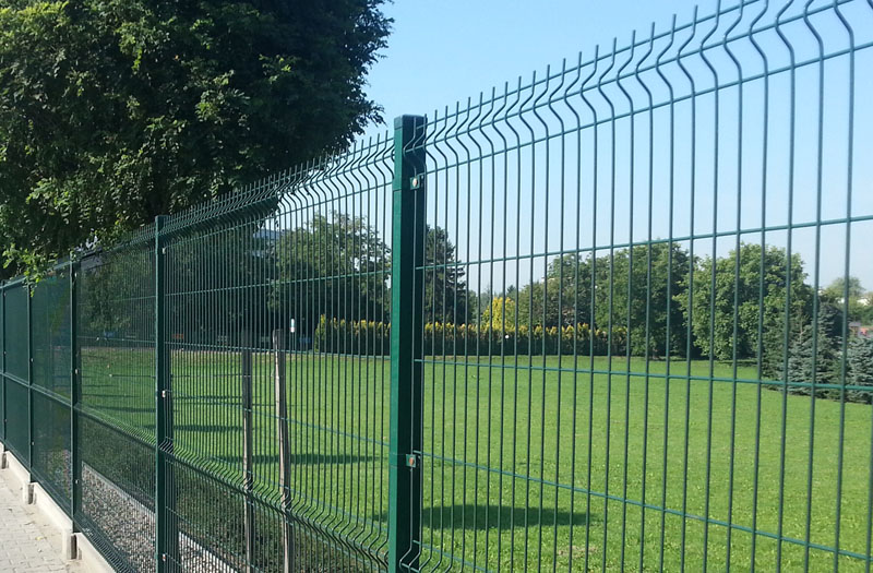 High Quality Outdoor Pvc Coated 3d Wire Mesh Fence Welded
